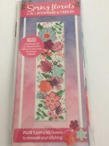 Twilleys ~ Counted Cross Stitch Kit ~ Bookmark Set  ~ Poppy Dawn ~ 2890//0026
