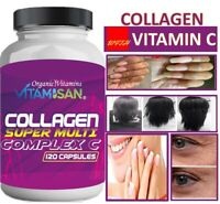 COLLAGEN Colageno ALFA Hydrolysate with Vitamin C ANTIANGING Colageno 120 tabs +
