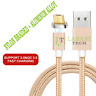 magnetic Micro USB Fast Charger Cable Adapter Lead for Samsung HTC Android Phone