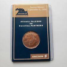 NFL Carolina Panthers vs Falcons Ericson Stadium 1998 Season Opener Coin Token