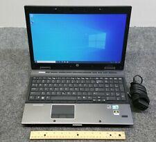 "HP EliteBook 8540w 15.6"" Laptop Core i7-M620, 8 GB RAM, 256 GB SSD w/Adapter"