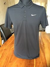 Nike Mens Standard Fit Golf Polo Shirt black Size Small