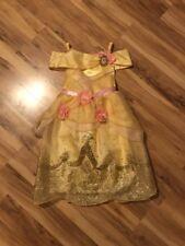 Princess Belle Costume Disney Store Dress Toddler Size 2-3 EUC