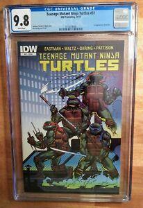 🐢Teenage mutant ninja turtles 51 CGC 9.8🐢1st Jennika! 🔥HOT🔥 Eastman & Garing