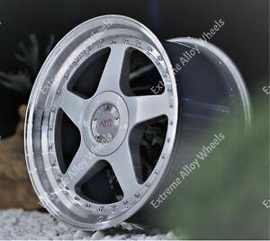 """Alloy Wheels 18"""" 04 For Nissan 200sx 300zx 350z 370z Skyline 5x114 Wr Silver"""