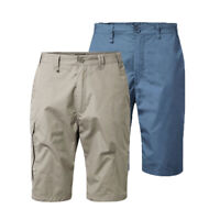 Men's Craghoppers Kiwi Long Outdoor Pockets Golf Walking Casual Shorts RRP £60