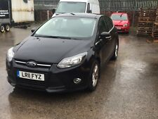 Ford Focus Zetec NAV 1.6tdci damaged £20 tax New Shape