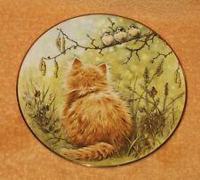 Birdwatcher / Kitten Classics Hamilton Cat Plate
