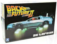 Aoshima Back To The Future Ii #02 DeLorean 1/24 Plastic Model Car Kit 05917