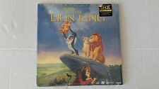 The Lion King (Letterbox Extended Play LaserDisc) Walt Disney's MasterPiece