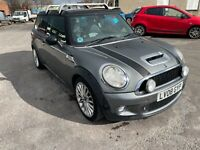 mini cooper clubman 1.6 s spares or repairs