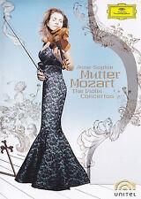 ANNE-SOPHIE MUTTER - 2 DVD - MOZART : THE VIOLIN CONCERTOS
