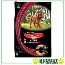 Supercoat Real Beef Adult Dry Dog Food 18kg