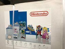 RARE! Vintage Super Mario Bros. Nintendo Mushroom Kingdom Headboard - New In Box