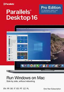 Parallels Desktop 16 PRO für MAC *1-Jahr* (ESD) / KEY