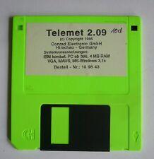 Diskette mit Telemet 2.09 für alte DOS/ Windows Rechner