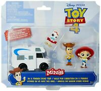 Toy Story Disney Pixar 4 Minis RV and Friends Road Trip Pack NEW
