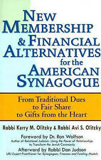 New Membership & Financial Alternatives for the American Synagogue: From Traditi