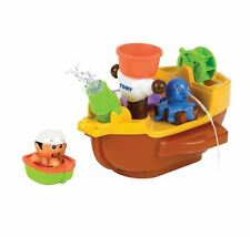 TOMY Pirate Ship Bath Toy with Squirters Baby Infant Toddler 18 Months+