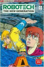 Robotech: the New Generation # 5 (estados unidos, 1986)