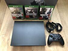 Xbox One X + 3x Spiele