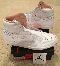 Nike Air Jordan Retro 1 High OG Los Angeles L.A. Size 15 White New DS Sample