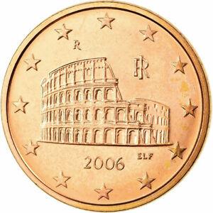 [#723574] Italie, 5 Euro Cent, 2006, SPL, Copper Plated Steel, KM:212