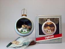 Vintage Hallmark Keepsake Magic Ornament 1989 Animals Speak - #QLX7232-DB