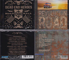 2 CDs, Dead End Heores - Roadkill (2014) + Revolution Road (2013) Melodic Rock