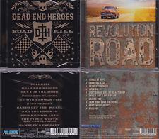 2 CD, Dead End Heores-roadkill (2014) + révolution road (2013) melodic rock