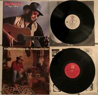 HANK WILLIAMS JR:Pre-Owned 2 Pack LP's:MAJOR MOVES-STRONG STUFF