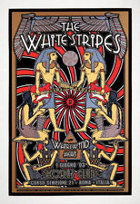 The White Stripes POSTER Whirlwind Heat Dennis Loren Silkscreen 1st Print Signed