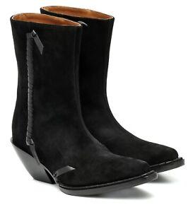 ACNE STUDIOS Black Suede Ankle Boot UK6/ US9/EU39