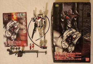 1996 Bandai Neon Genesis Evangelion EVA-04 PRODUCTION Model Kit Built & Painted