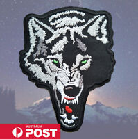 Wolf Patch for Embroidery Cloth Patches Badge Iron Sew On