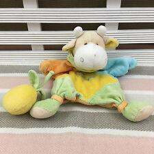 Doudou Et Compagnie Cow Comforter Blanket Blanket Soother Hug Toy