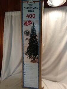 7.5Ft Christmas Tree Artificial Holiday Faux-Pine Xmas PVC Trees Home W/ Stand