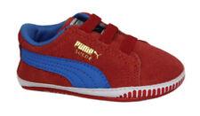 Scarpe scarpe da ginnastici rossi marca PUMA per bambini dai 2 ai 16 anni