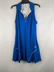 Adidas Golf Dress, Glory Blue, Women's Large