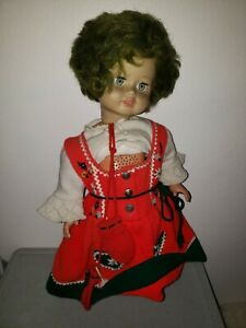 Vintage German Turtle Mark Schildkrot hard plastic Doll