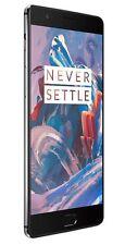 New OnePlus 3 A3000 Graphite 64GB Dual SIM Factory Unlocked Smartphone 5.5'' US
