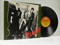 THE CLASH the clash self titled LP EX/EX-, CBS 82000, vinyl, album, uk, 1977,