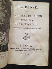 LA DANSE ou Le Dieux de la Opera J. Berchoux GIGUET ET MICHAUD 1808 2NDEd.French