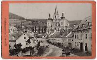 Grazergasse in Mariazell. Nicolaus Kuss. Orig.-CdV-Photo um 1880
