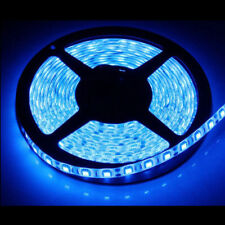 24V 5M LED Blue Strip Light Under Cabinet Light Self Adhesive Tape+Power Supply