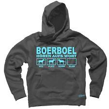 Sweatshirt BOERBOEL HÖREN AUFS WORT by Siviwonder Hoodie