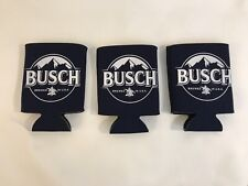 Anheuser Busch Beer Can Cooler Koozie USA Lot of 3 (HD7)
