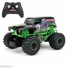 Grave Digger RC Remote Control Truck Monster Jam Toy Racing Car For Kids Gift