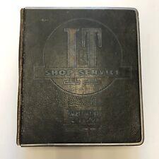 Vintage I&T Shop Service Manuals Collection IH Massey-Ferguson Minne-Mo