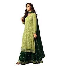 stylishfashion Women's Salwar Kameez Designer Indian Dress, Green, Size Medium o